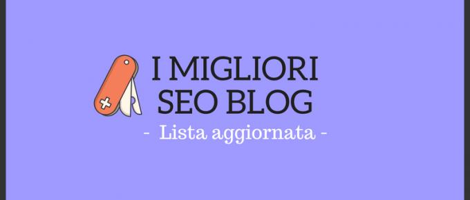 Scopri chi sono i migliori blog SEO del 2018