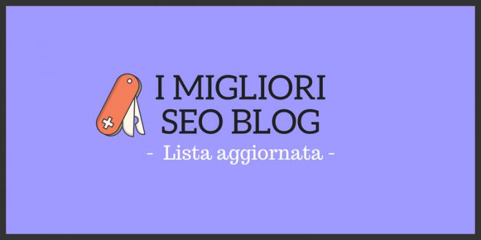 I 31 Migliori SEO Blog al mondo: lista aggiornata [+PDF]