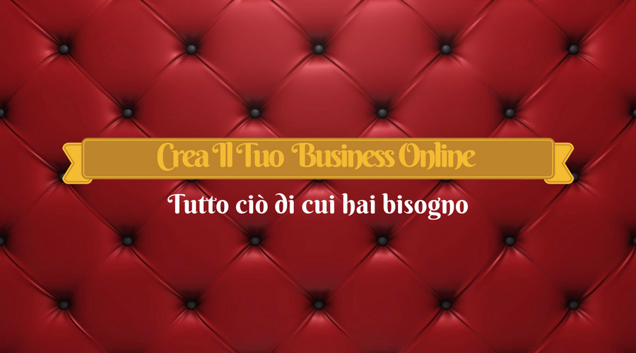 tutorial per creare un business online partendo da zero