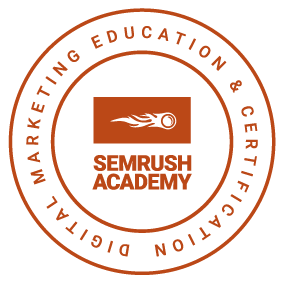 Badge SEMrush Certification
