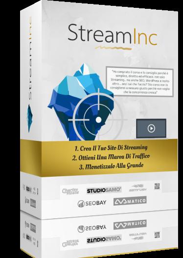 , StreamInc: Programma di Affiliazione Premium (€97/€197 x Vendita)