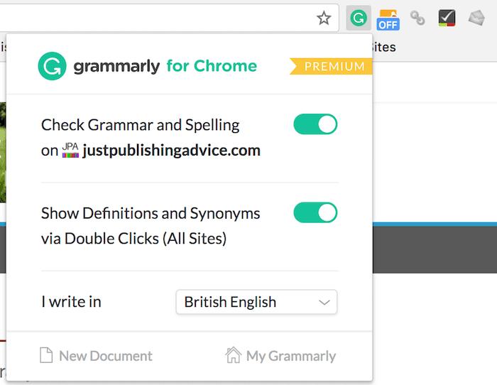 Grammarly estensione