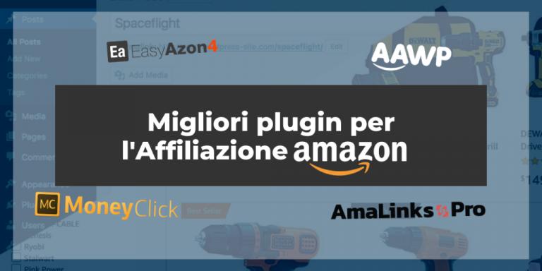 Migliori plugin per Affiliazione Amazon