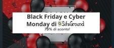 Siteground Black Friday e Cyber Monday