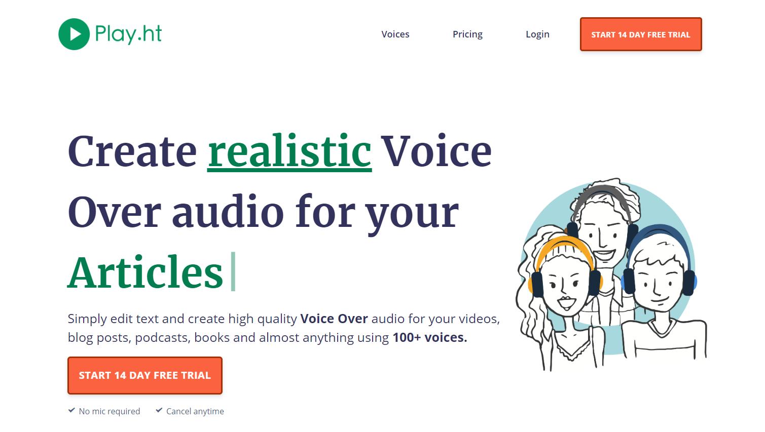 crea contenuti audio automaticamente per il tuo ecommerce