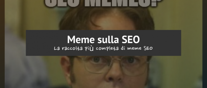 meme sulla seo