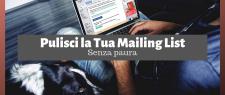 pulire la mailing list della newsletter