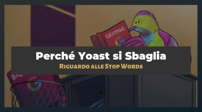 Quando NON Dovresti Rimuovere le Stop Words dagli URL