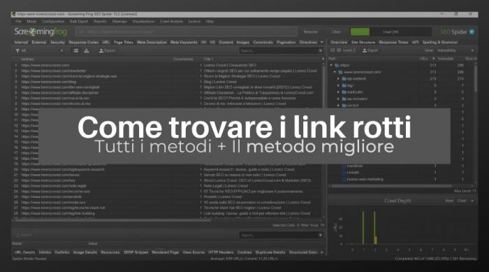 Come trovare i link rotti (broken links) [tutti i metodi+il migliore!]
